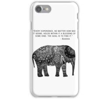 Buddha Wisdom Elephant iPhone Case/Skin