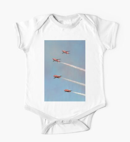 Red Arrows - Mirror Pass One Piece - Short Sleeve