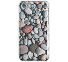 pebble stone floor, pebble stone background iPhone Case/Skin