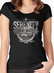 Space Pioneers Women's Fitted Scoop T-Shirt