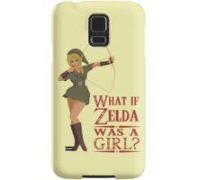 What if Zelda was a girl? (it's a joke) Samsung Galaxy Case/Skin