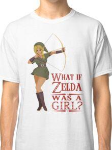 What if Zelda was a girl? (it's a joke) Classic T-Shirt