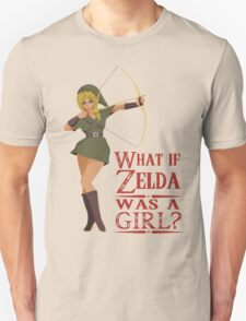 What if Zelda was a girl? (it's a joke) Unisex T-Shirt