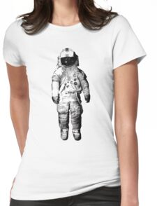 Deja Entendu Astronaut  Womens Fitted T-Shirt