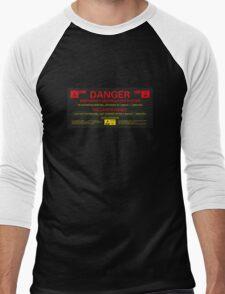 EMERGENCY DESTRUCTION SYSTEM Men's Baseball ¾ T-Shirt