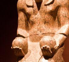 Italy. Turin. Egyptian museum. Pharaoh. Sticker