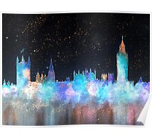 Westminster And Big Ben Cosmos Poster