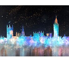 Westminster And Big Ben Cosmos Photographic Print