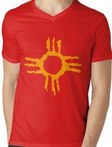 Native American Sun Mens V-Neck T-Shirt