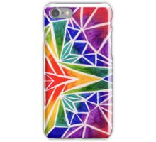 Rainbow Compass Rose iPhone Case/Skin