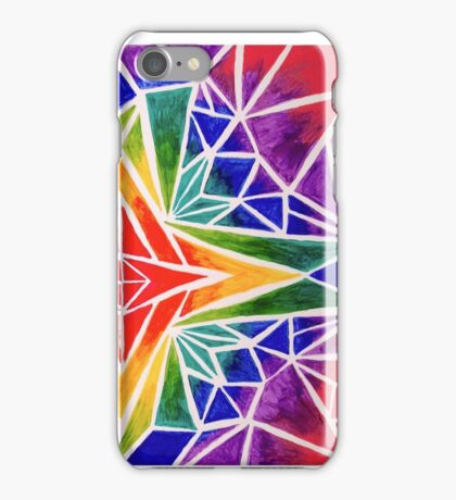 Rainbow Compass Rose iPhone Case/Skin