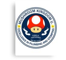 Mushroom Kingdom University Canvas Print