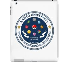 Kanto University - Pokemon Studies iPad Case/Skin