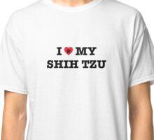 I Heart My Shih Tzu Classic T-Shirt