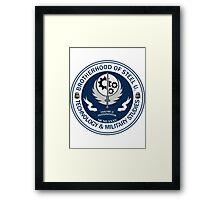 Brotherhood of Steel University - Tech & Firepower Framed Print