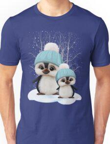 Cute Boy Penguins Unisex T-Shirt