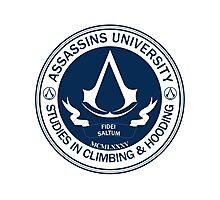 Assassins University - Climbing & Hooding Photographic Print