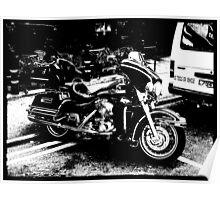 Motorbike. Poster