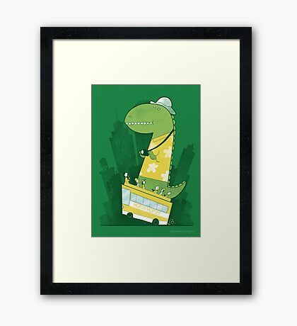 Hop-on-hop-off Framed Print