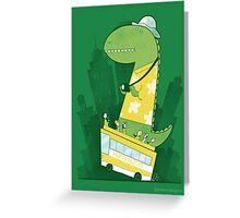 Hop-on-hop-off Greeting Card