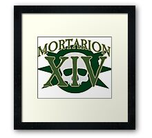 Mortarion - Sport Jersey Style Framed Print