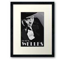 Orson Welles Vector Graphic Framed Print