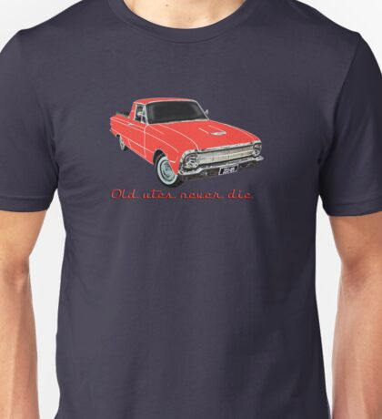 Old utes never die Unisex T-Shirt