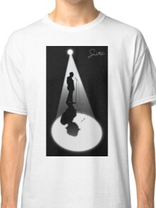 Frank Sinatra Silhouette Vector Graphic Classic T-Shirt