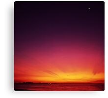 Beautiful Start To The Day Canvas Print