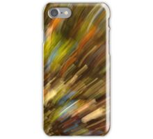 abstract art autumn colors iPhone Case/Skin