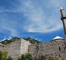 Travnik Fortress by jojobob
