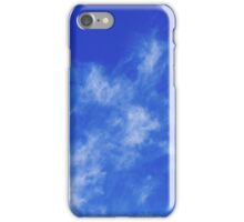 Abstract With Clouds Part 4 - Color Version iPhone Case/Skin