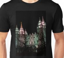Christmas at the Temple Unisex T-Shirt