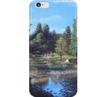 Southampton Hillier Gardens late summer iPhone Case/Skin