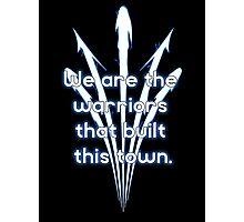 Warriors blue team Photographic Print