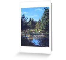 Southampton Hillier Gardens late summer Greeting Card