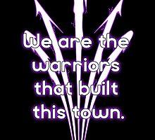 Warriors purple team by RedSolar