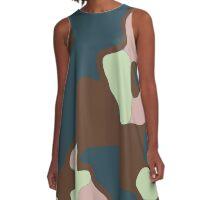 curved ...  A-Line Dress