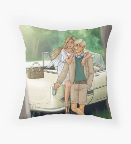 It's the tale as old as time Throw Pillow