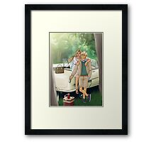 It's the tale as old as time Framed Print