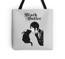 black butler Tote Bag