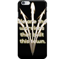 Warriors Gold iPhone Case/Skin