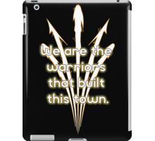 Warriors Gold iPad Case/Skin