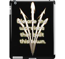 Warriors Gold iPad Case/Skin