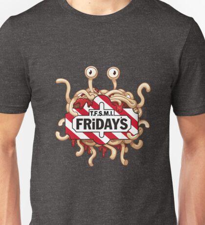 Thank Flying Spaghetti Monster It's Friday's Unisex T-Shirt