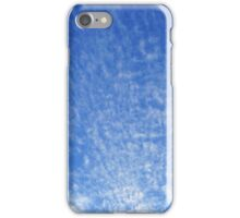 Abstract With Clouds Part 5 - Color Version iPhone Case/Skin