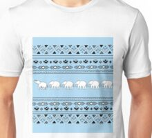 Blue- Elephant March Unisex T-Shirt