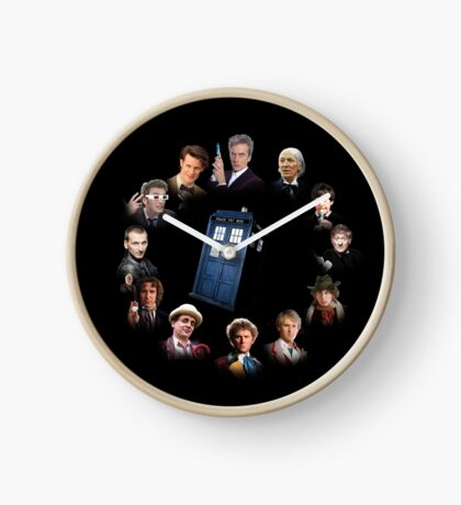 12 (and a bit) Doctors Clock Clock