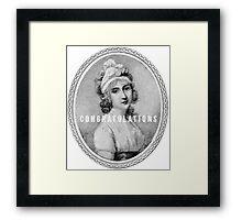 Congratulations - Angelica Schuyler Church Framed Print