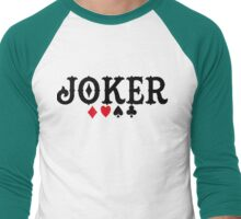 Joker Men's Baseball ¾ T-Shirt
